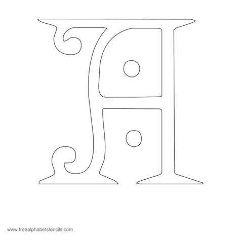 letter templates for painting free printable stencils for alphabet letters numbers