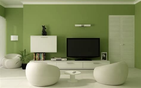 green interior paint color combinations home
