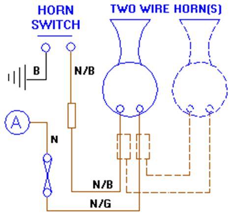 car horn wiring diagram 23 wiring diagram images