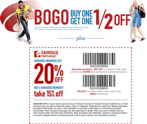 shoes coupon free printable coupons footwear coupons
