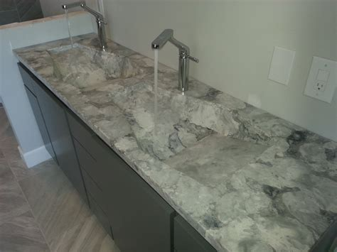 double bathroom sink countertop long exotic stone bathroom countertop with double though