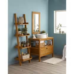 meuble de salle de bains de 80 224 99 brun marron