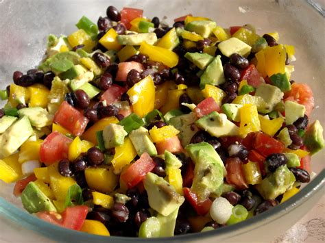salad recipes guacamole salad recipe dishmaps
