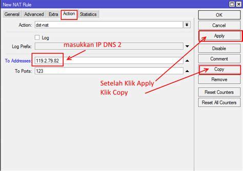 cara konfigurasi dns server di mikrotik panduan konfigurasi dns bersih pada mikrotik domain name