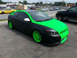 plasti dip colors for cars green plasti dip custom creation by gearheadbuilt