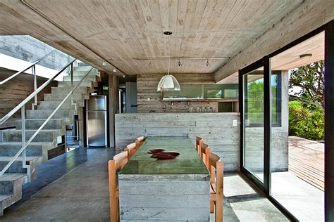 Industrial Flooring For Homes Modern Home Ushers In Industrial Type With Concrete