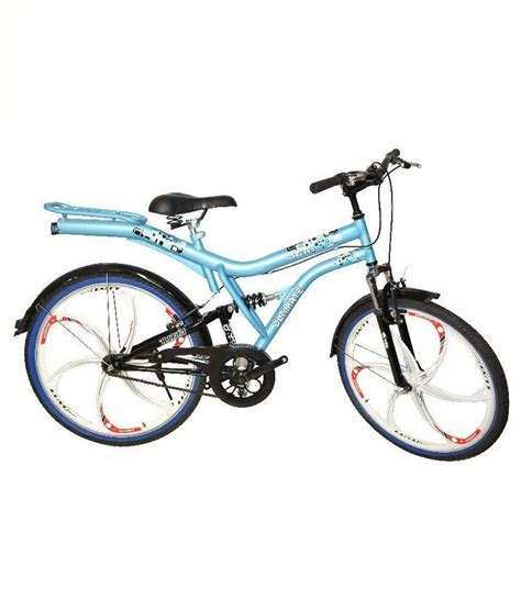 bicycle gear atlas cycles blue non gear bicycle buy at best