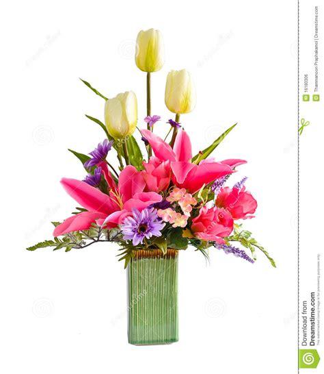 artificial flower arrangement royalty  stock image