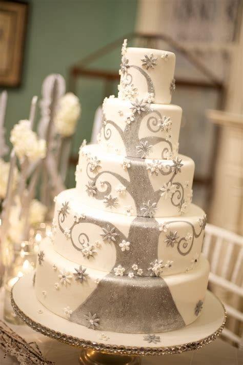 winter wedding cake cakecentral