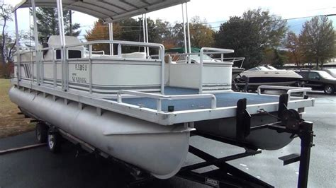 pontoon boats for sale peterborough 1996 24 harris hard top pontoon with 1998 honda 75hp 4