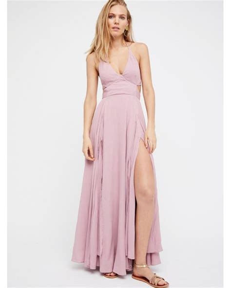 free lille maxi dress lyst