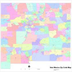 map with zip codes new mexico zip code maps free new mexico zip code maps