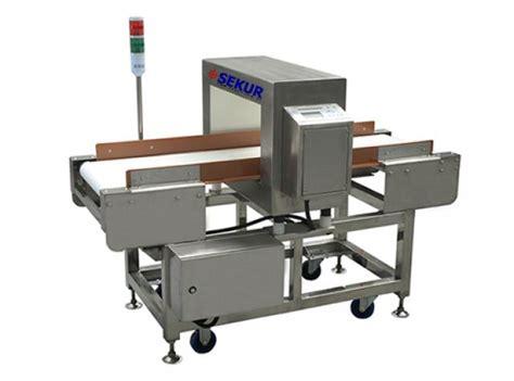 producto detector de metales  alimentos seguridad sekur