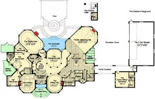 chateau floor plans chateau to call your own 63132hd architectural