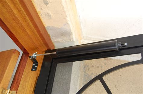 Auto Door Closer Bunnings - door closers aluminum screen door closer screen