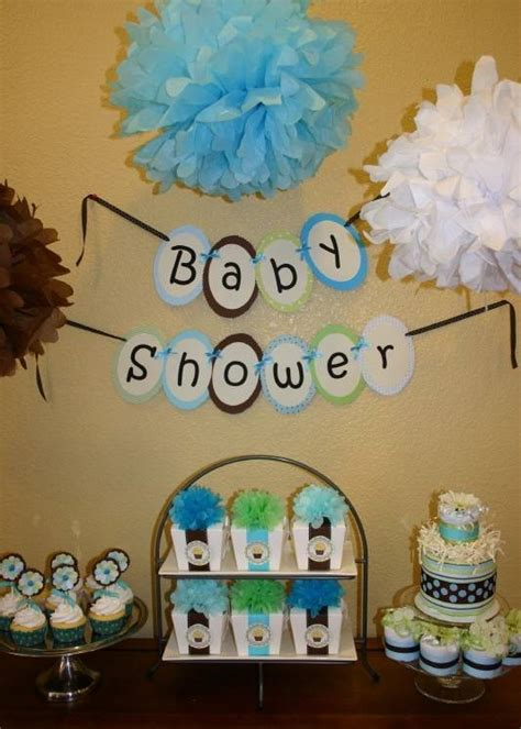 Boy Baby Shower Decoration Ideas by Ideas For Baby Boy Shower Decorations