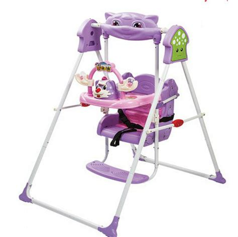 indoor infant swing children s household cradle swing chair child rocking