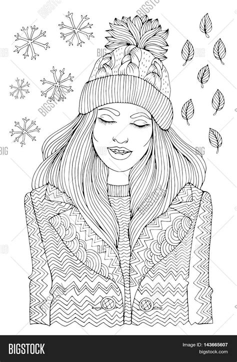 coloring books realm 4 44 grayscale coloring pages of fairies flowers elves butterflies animals warriors females and coloring books for adults volume 4 books vector fashion smiling in a warm knitted