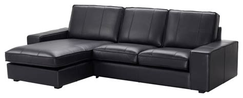 cool ikea black leather sofa ikea kivik leather sofa