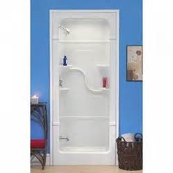 36 inch 1 acrylic shower stall left