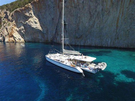 private greece catamaran charters luxury catamarans for - Private Catamaran Greece