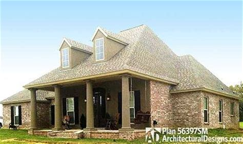Acadian House Plan With Open Floor Plan 56397sm Acadian House Plans