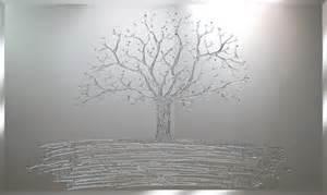 buy silver glitter tree swarovski mirror in the uk