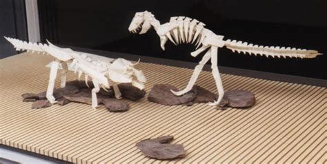 Origami Skeleton - origami dinosaur skeleton driverlayer search engine