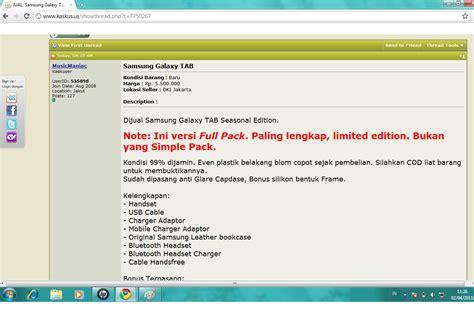 Jual Samsung Galaxy Tab A Kaskus merry membeli samsung galaxy tab via kaskus