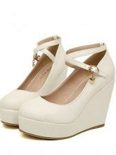 New Arrivals Cynthia Wedges new arrival toe cross one buckle wedges