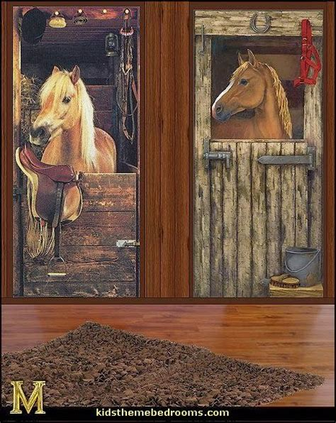 horse wall murals horse wall mural decals horse theme bedrooms jhoana pinterest farm theme