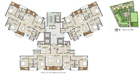 Mall Bangalore Floor Plan by One Bangalore West 3 4 Bhk Apartment Rajajinagar