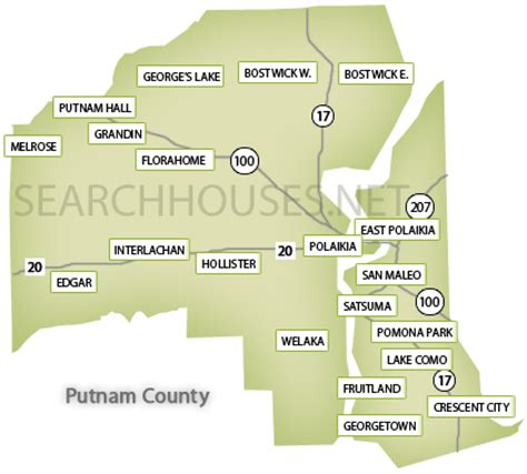 Putnam County Ny Property Records Maps Of Northeast Florida Search Areas By County Maps