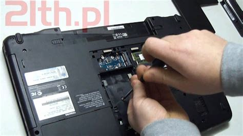how to replace a keyboard in laptop toshiba satellite p770 remove keyboard replacement