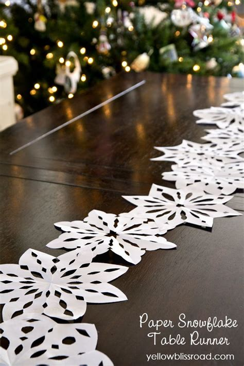 A Snowflake Out Of Paper - best 25 snow ideas on winter