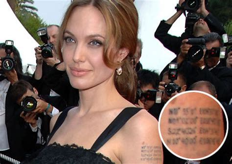 brat hindi meaning angelina jolie tattoos and meanings
