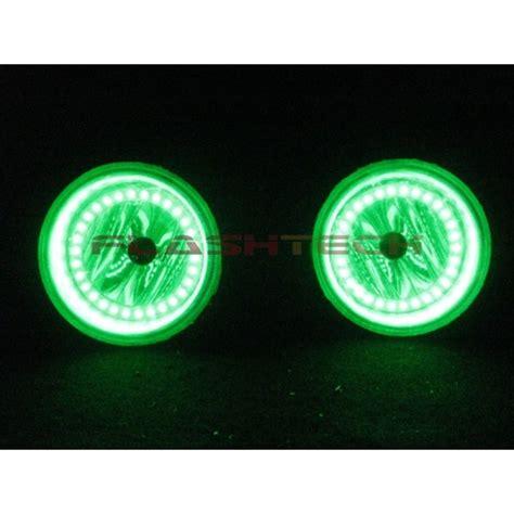 gmc v 3 fusion color change led halo fog light kit