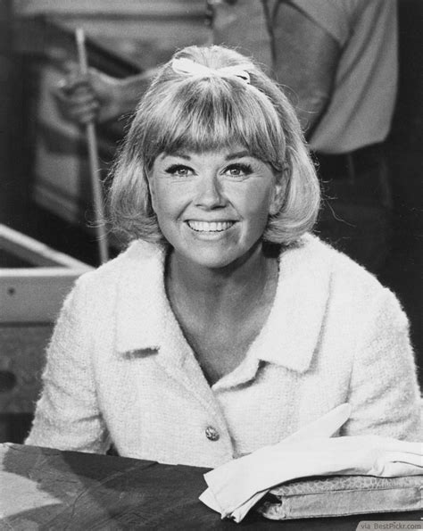 doris day has a perfect dutch bob added in the perfection
