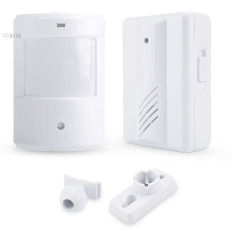 infrared wireless alert system motion sensor home security