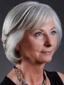 trendy bobs for 50 with thin hair short hairstyles over 50 bob hairstyle for grey hair