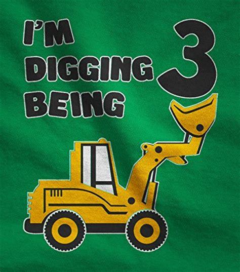 teestars  birthday bulldozer construction party  year