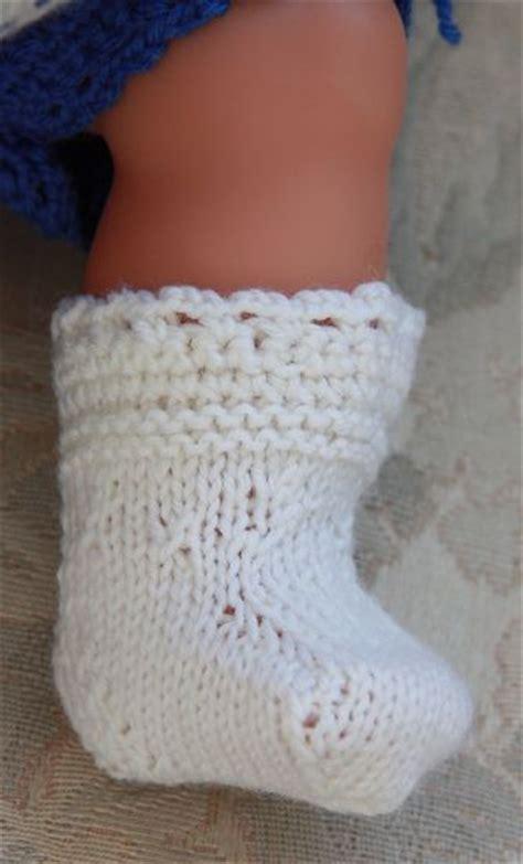 knitting pattern doll socks dolls knitting patterns