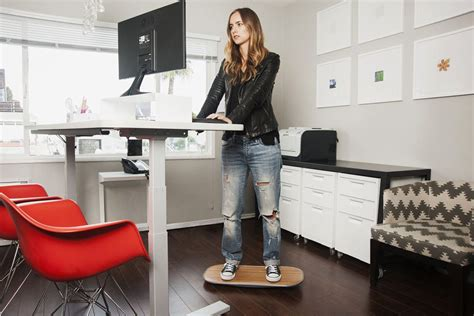 Office Desk Standing Enchanting Pros Cons Of Using A Standing Desk At Work With Standing Office Desk Otbsiu