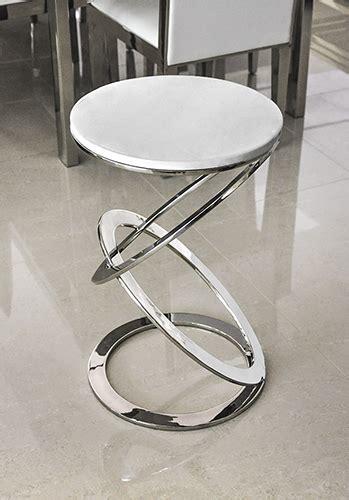 Olimpico Modern White Volakas Marble End Table