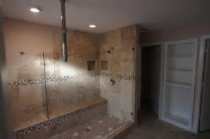Home Designer Pro Wall Length Unique Walk In Shower In Plano Traditional Bathroom