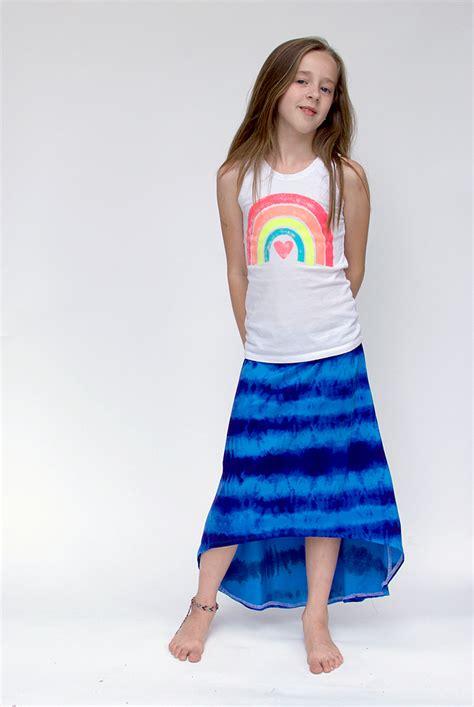 maxi skirt hey june handmade