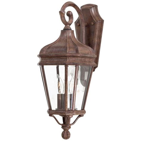 The Great Outdoors By Minka Lavery Harrison 2 Light Vintage Outdoor Wall Lights