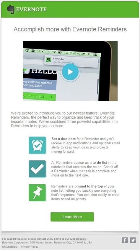 Email Exles For New Features Announcement Betaout Learning Center New Product Announcement Template