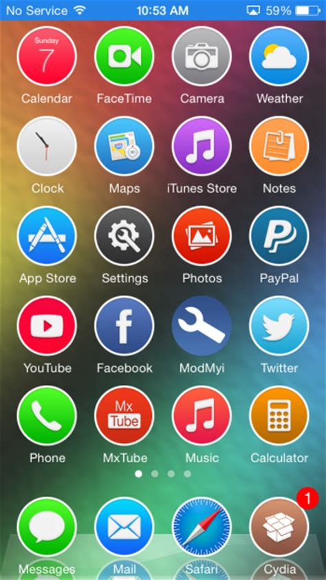 ios 9 theme for ios 8 jailbreak by theromanemperor on top five ios 7 winterboard themes september 7 2014