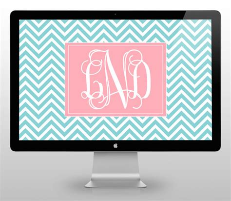 computer wallpaper monogram unavailable listing on etsy